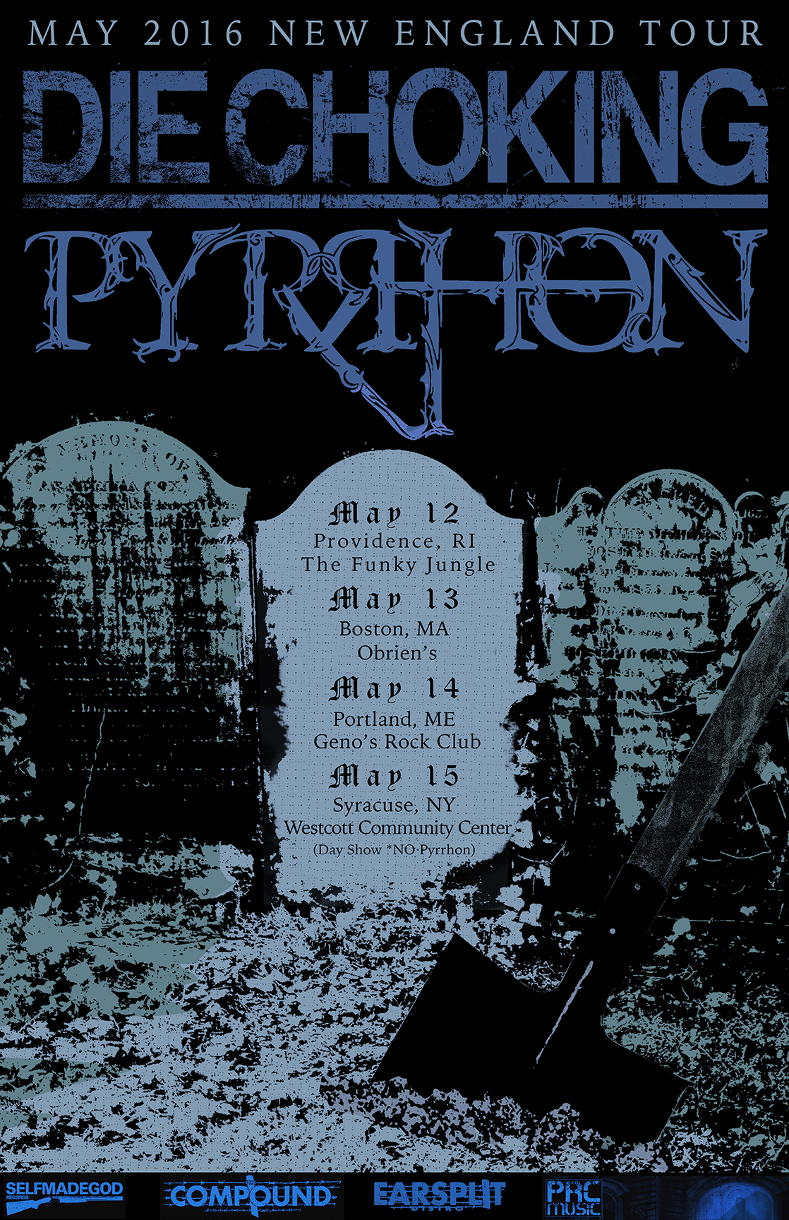 die choking_pyrhon_flyer2