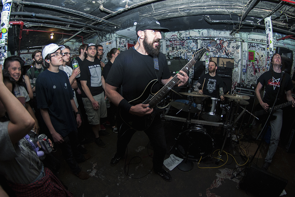 Die Choking Meatlocker 1 May 2016 [photo by Paul Buczkowski]